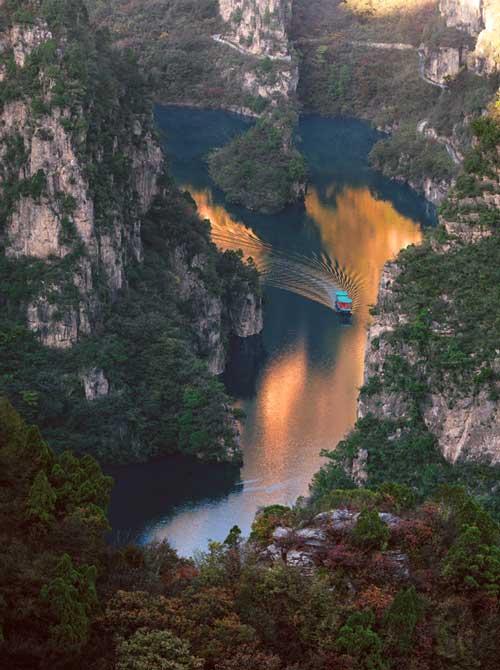 云台山峰林峡