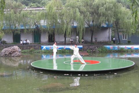 小寨沟娱乐项目太极拳表演