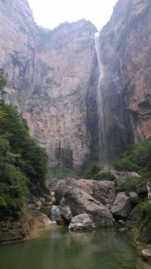 云台山瀑布