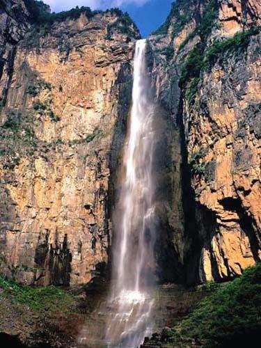 暑假云台山泉瀑峡