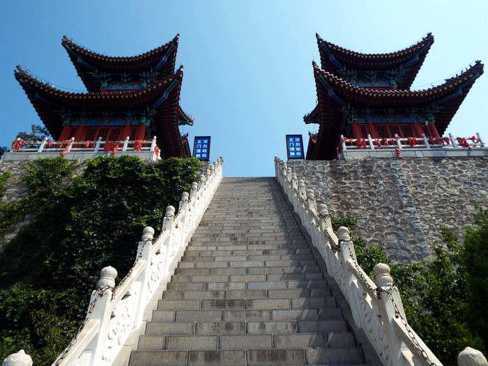 云台山玄帝宫台阶