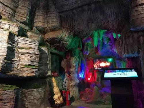 云台山世界地质博物馆内部场景