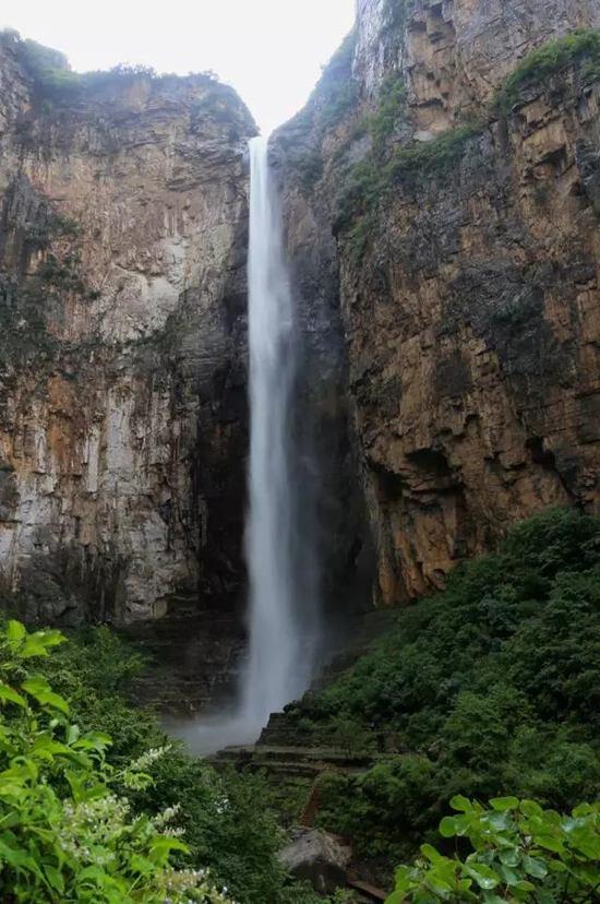 7月云台山大瀑布进入雨季