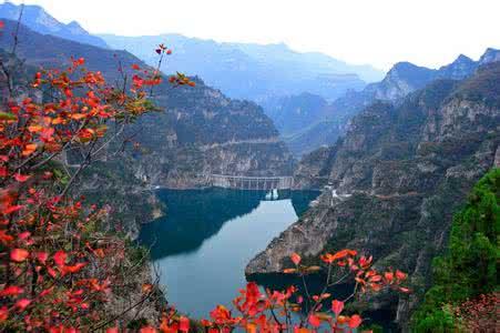 云台山地质公园峰林峡园区