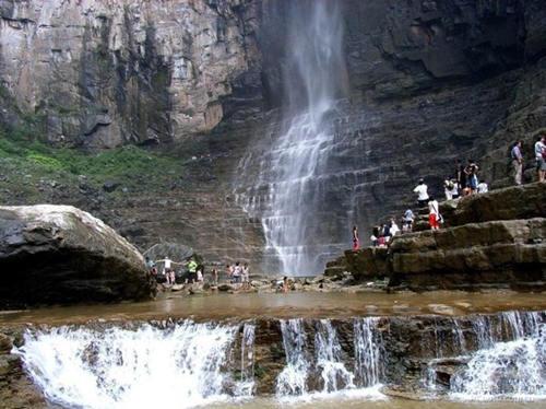 云台山大峡谷泉瀑峡