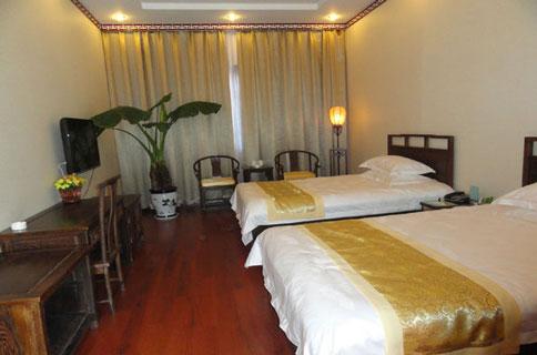银河花园酒店房间图片