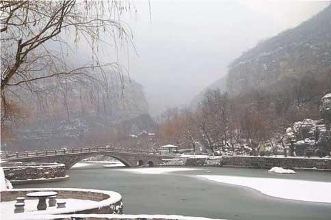 小寨沟下雪
