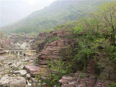 云溪谷景色
