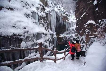 云台山冬季旅游看雪攻略