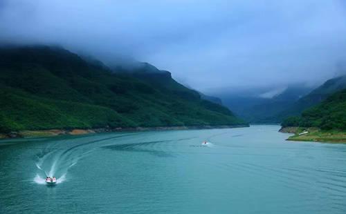 云台山子房湖和张良