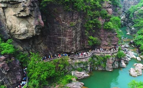 云台山景区的水
