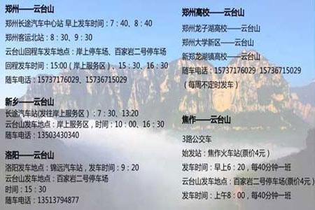 辉县到云台山自驾游路线怎么走