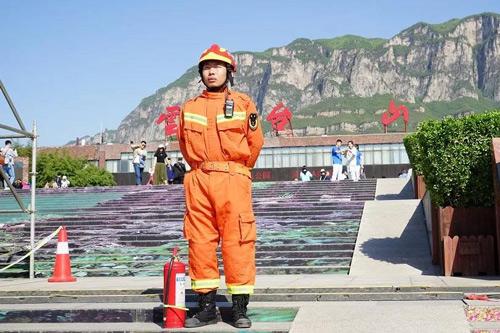 焦作云台山景区对消防员永久免门票
