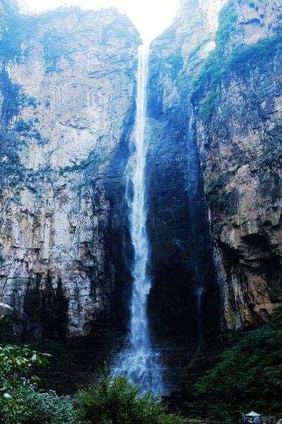 云台山泉瀑峡