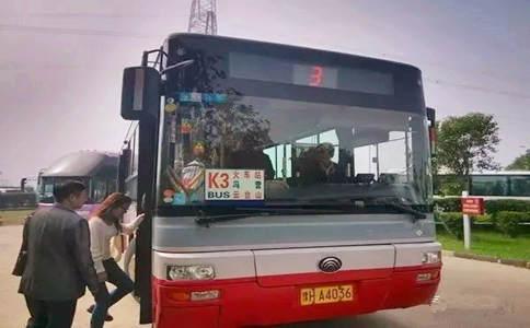 焦作3路公交车到云台山