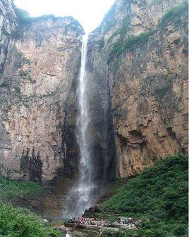 云台山泉瀑峡天瀑