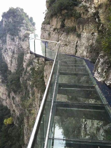 云台山玻璃栈道多长
