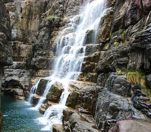 云台山大峡谷地质瀑布