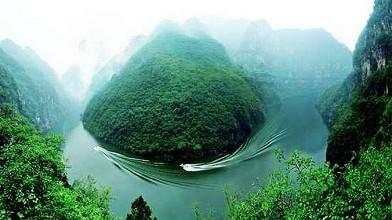 云台山地质公园青天河园区