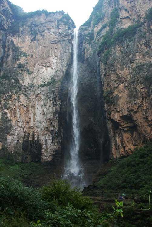 云台山瀑布,落差国内之最亚洲第一