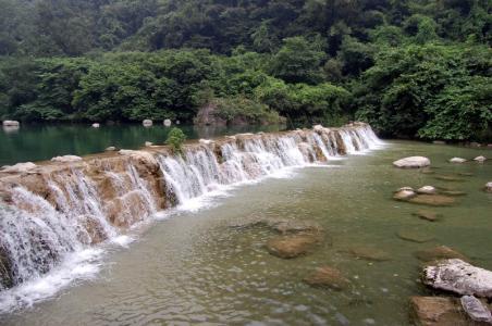 云台山潭瀑峡瀑布