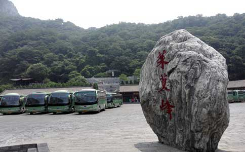 云台山茱萸峰停车场