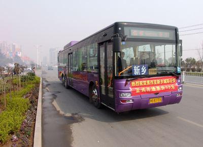 新乡到焦作城际公交去云台山旅游