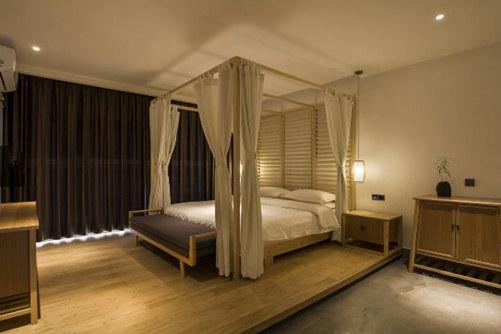 云台山探宿酒店房间图片