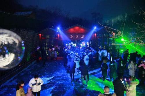 云台山景区将于2022020年4月3日重新开放云台山云溪谷夜游