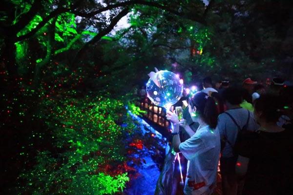 云台山旅游攻略夜游项目