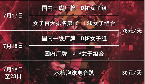 云台山音乐节票价