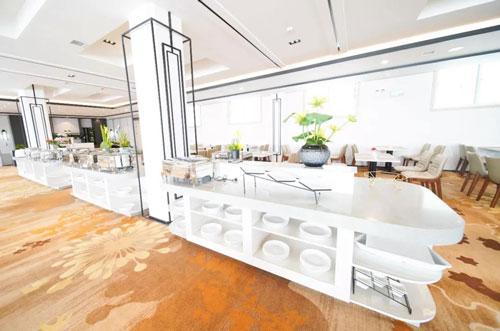 云台山文化旅游学院酒店餐厅