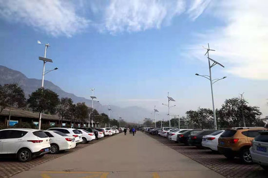 云台山自驾游怎么停车方法