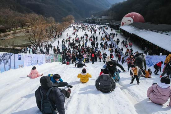 云台山100元年票可以参加冰雪节